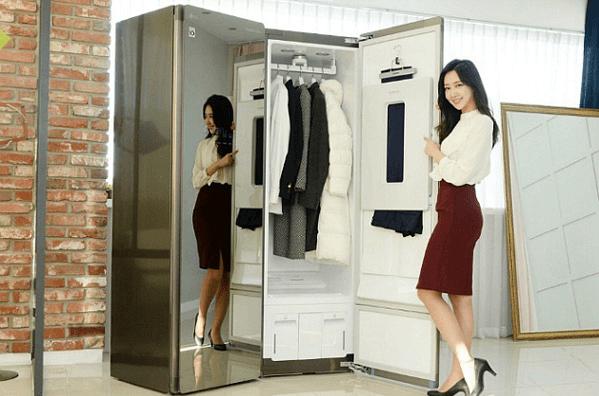 Máy giặt hấp sấy LG Styler S5MB công nghệ hiện đại