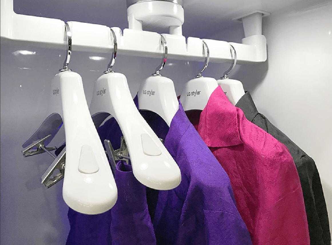 Máy giặt hấp quần áo LG Styler S5MB có khối lượng giặt lớn