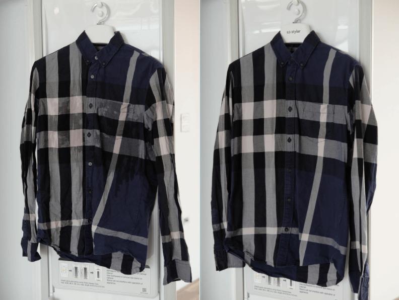 Tủ chăm sóc quần áo thông minh LG S3RF giặt sạch
