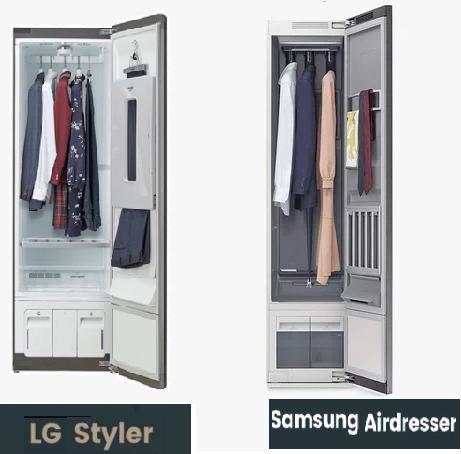 Tủ hấp quần áo LG Styler có sức chứa từ 3-5 trang phục