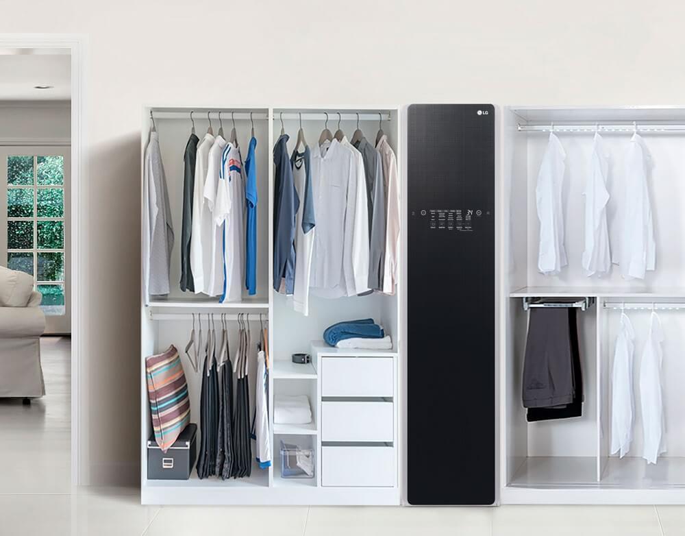 LG Styler thiết kế đồng nhất sang trọng, đẹp mắt