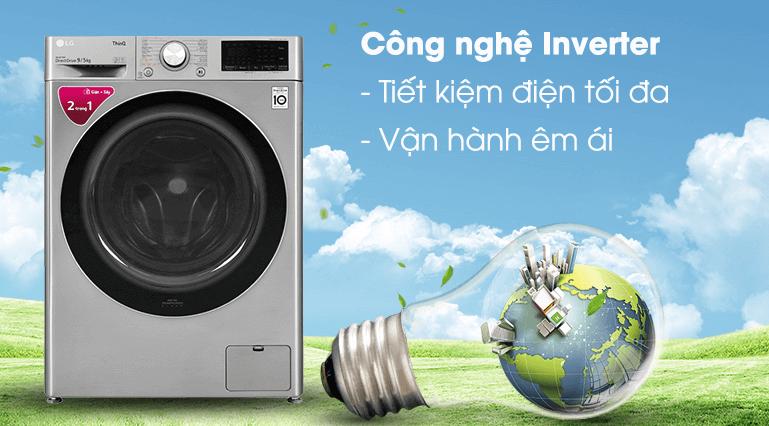 Máy giặt LG FV1409G4V tiết kiệm điện năng