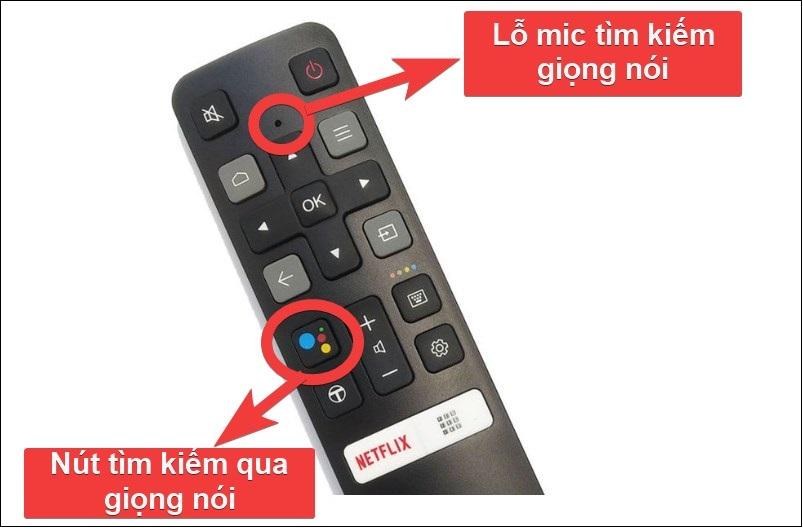 Tivi TCL không nhận giọng nói có thể do remoet đặt xa nguồn phát âm thanh hoặc chưa nhấn giữ đủ lâu