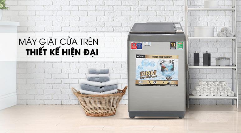 Máy giặt Aqua thiết kế nhiều mẫu máy giặt có khối lượng giặt khác nhau
