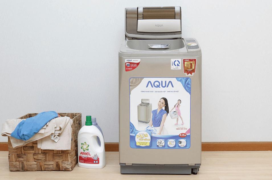 Máy giặt Aqua 8kg cửa trên