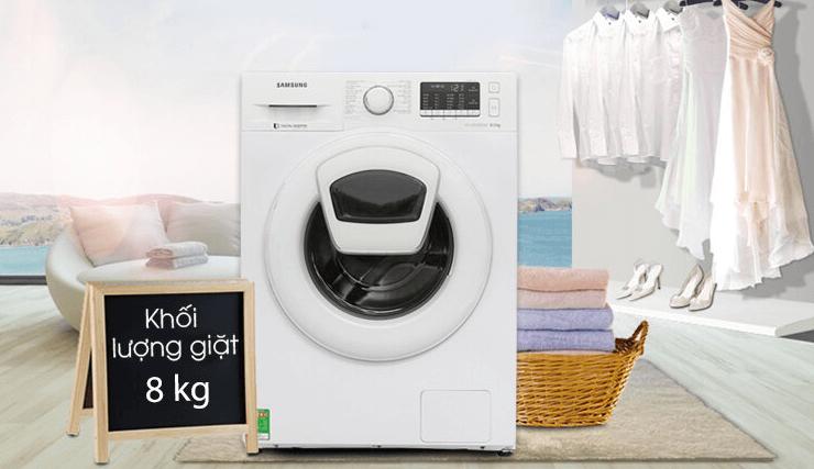 Máy giặt Samsung 8kg được ưa chuộng tại Việt Nam
