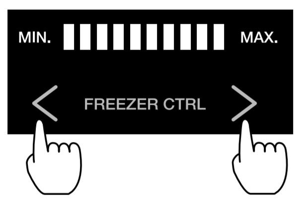 Thanh điểu chỉnh dải nhiệt độ