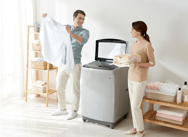Máy giặt sấy khô không cần phơi mang lại nhiều lợi ích cho người dùng