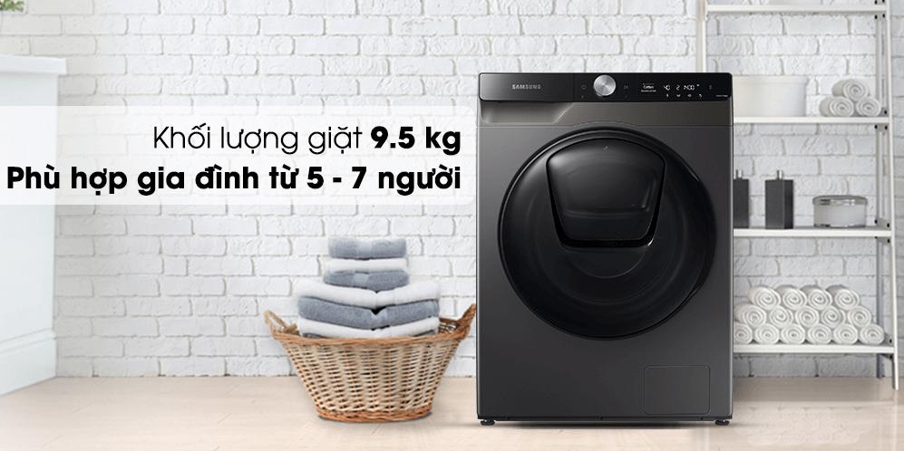 Máy giặt sấy khô không cần phơi Samsung WD95T754DBX/SV (New 2021)