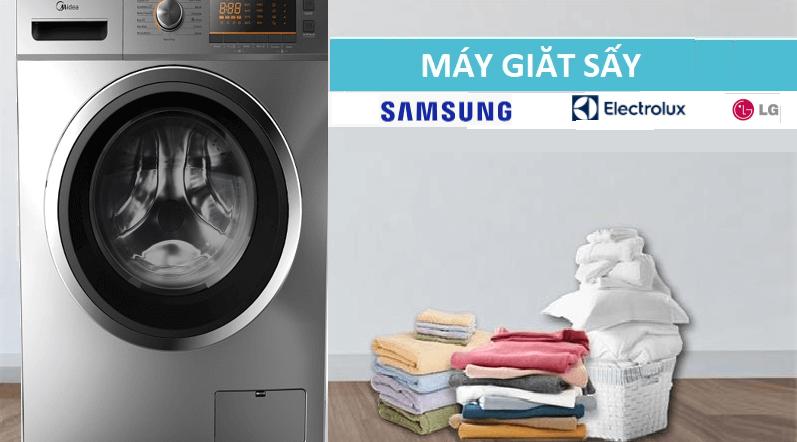 Máy giặt sấy khô không cần phơi tốt nhất của Electrolux, LG, Samsung