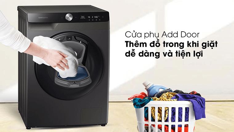 Máy giặt sấy khô không cần phơi Samsung WD95T754DBX/SV (New 2021) dễ dàng thêm đồ