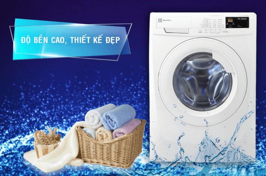 Máy giặt sấy khô Electrolux có độ bền cao, thiết kế đẹp