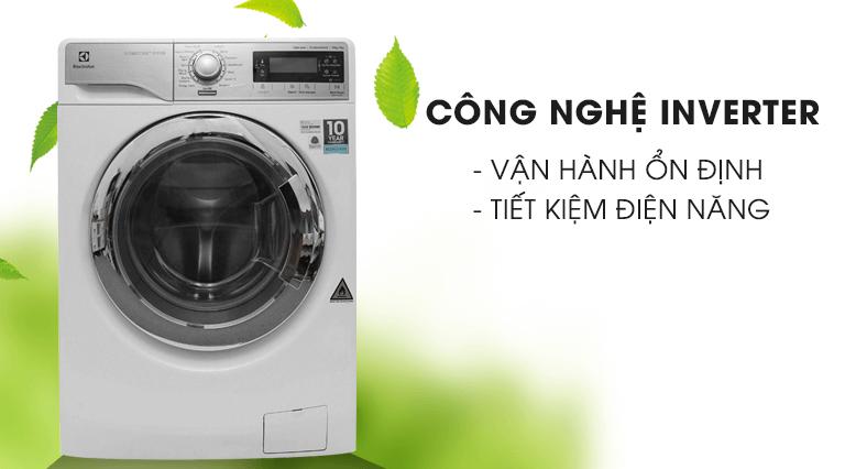 Máy giặt sấy khô Electrolux ứng dụng công nghệ inverter