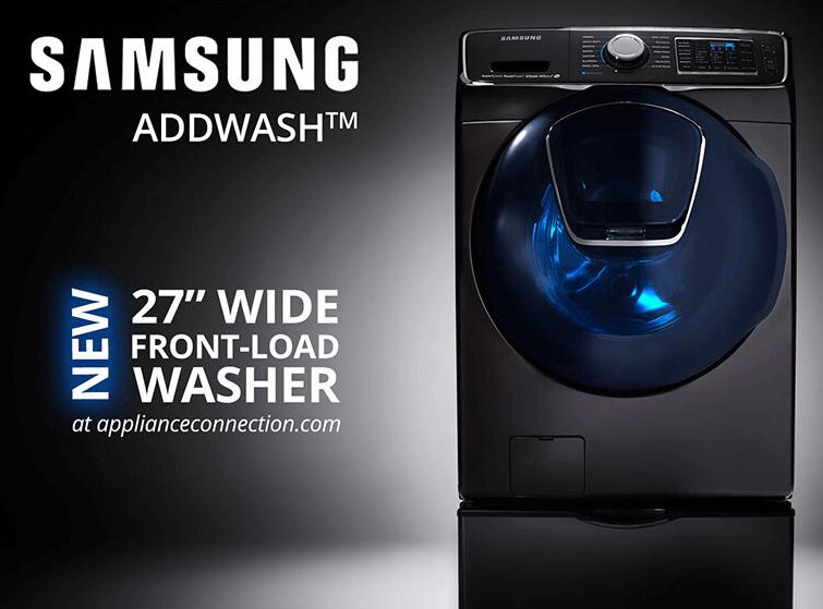 Máy giặt sấy khô Samsung có công nghệ cao, thiết kế đẹp