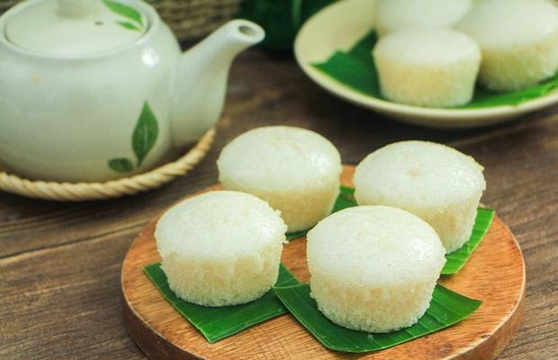 Cách làm bánh bò rễ tre bằng bột gạo