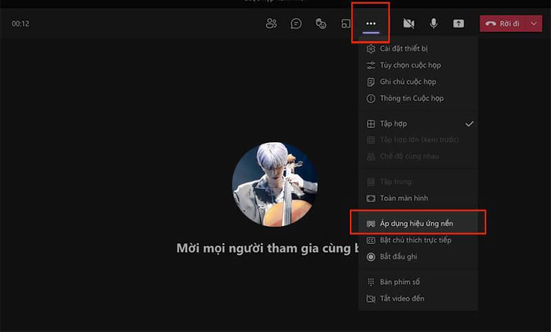 Cách tạo background trong Microsoft Teams trên máy tính