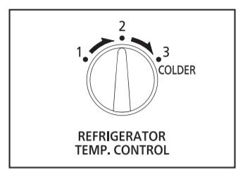 Núm điều chỉnh ngăn lạnh