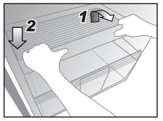 Cách tháo lắp khay Tando