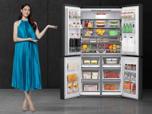 Tủ lạnh thạch sanh Casper có dung tích chứa lớn