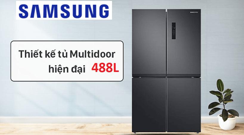Tủ lạnh Samsung Multidoor 488L loại nào tốt?