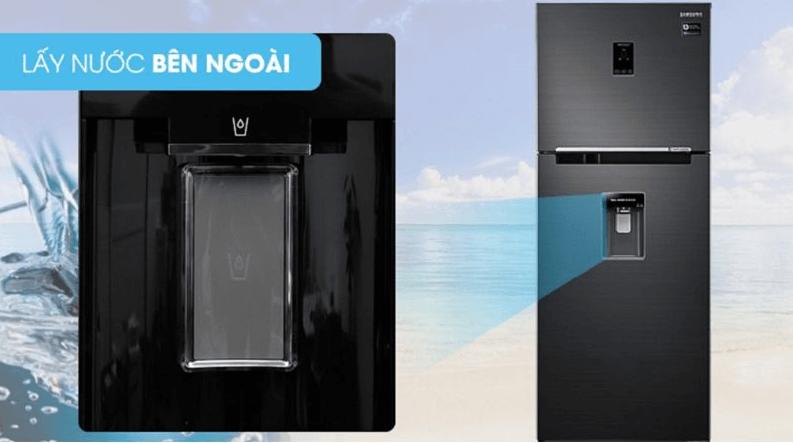 Tủ lạnh Multidoor Samsung thiết kế ngăn lấy nước bên ngoài