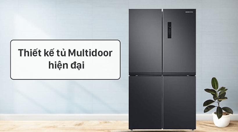 Tủ lạnh Samsung Multidoor 488L RF48A4000B4/SV (New 2021)