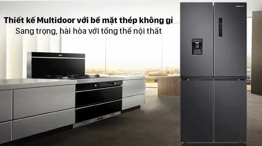 Tủ lạnh Samsung Multidoor 488L RF48A4010B4/SV