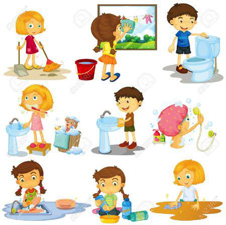 Bài thơ viết về trẻ em làm việc nhà