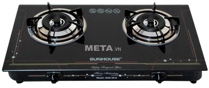 Bếp ga dương kính cao cấp Sunhouse SHB3818