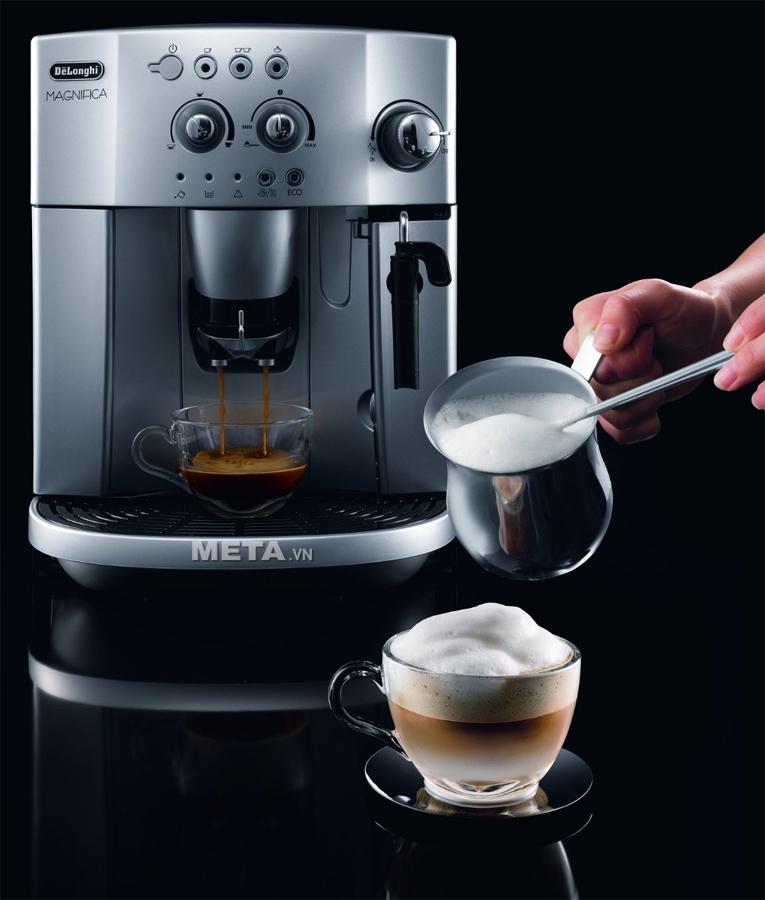 Máy pha cà phê Delonghi Full Automatic Espresso ESAM4200.S dùng cho quán pha cà phê
