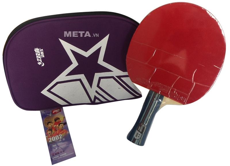 Vợt bóng bàn mút DHS-2002 - mặt màu đỏ