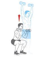 Các bước tập tạ tay để có cơ bắp săn chắc