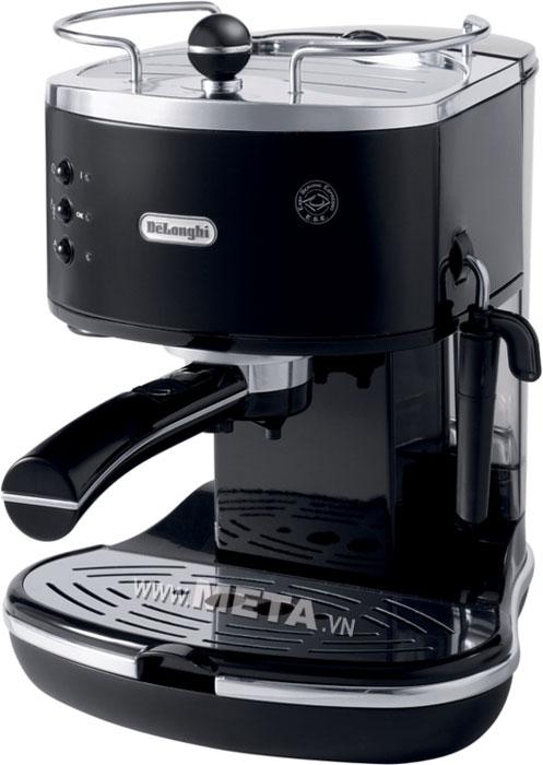 Máy pha cà phê Delonghi Pump Espresso ECO310.BK có chức năng chống nhỏ giọt.