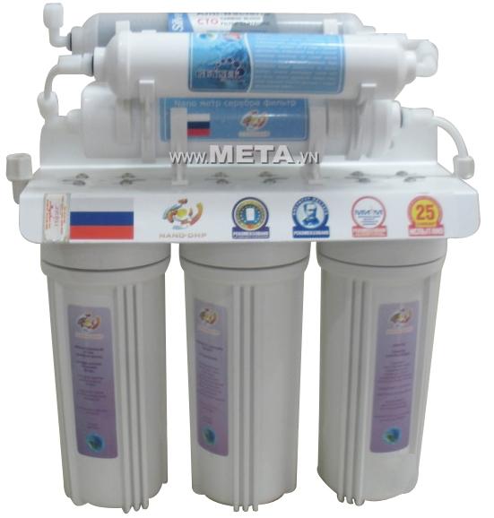 Máy lọc nước nano Geyser 6 cấp lọc TK6 không dùng điện, trang bị công nghệ lọc Nano
