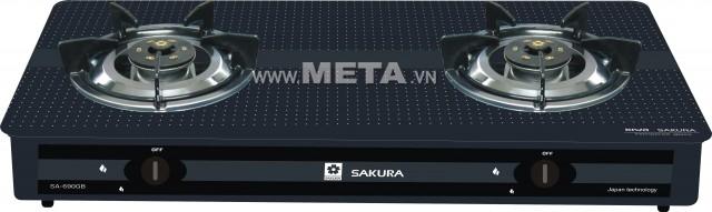 Bếp ga dương kính Sakura SA-690GB