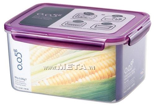 Hộp đựng thực phẩm Lock & Lock 4,6L ZZF140V - Màu Violet