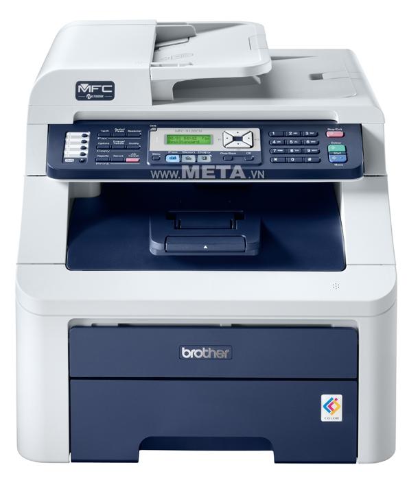 Máy in laser màu đa chức năng Brother MFC–9120CN