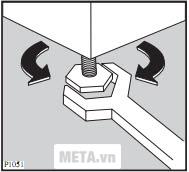 Đặt máy giặt vào vị trí cứng và phẳng