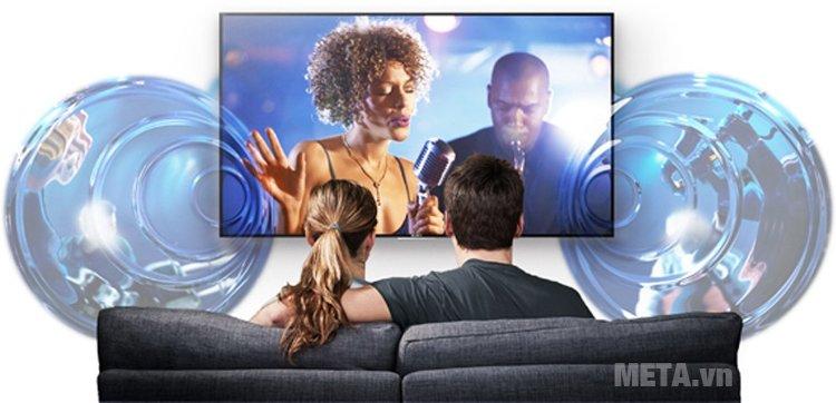 Tivi của Sony cho trải nghiệm âm thanh trong trẻo và tự nhiên.