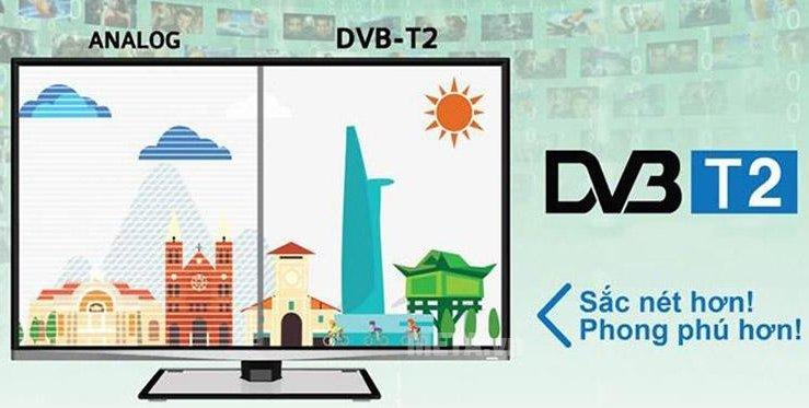 Tivi Sony 48W650D tích hợp sẵn đầu thu tiện ích.