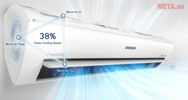 Điều hòa 1 chiều 12000BTU Samsung AR12KCFNSGMNSV