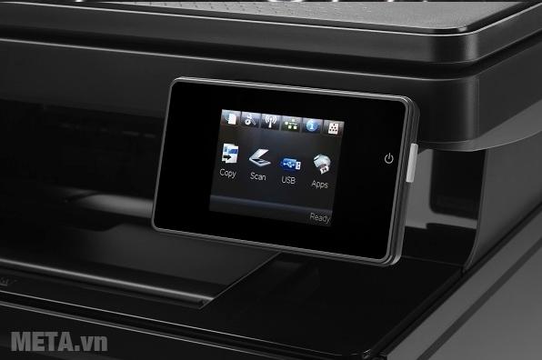 Máy in đa năng khổ A3 HP LaserJet Pro M435NW có màn hình lớn dễ quan sát.