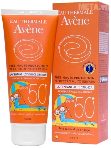 Lotion chống nắng Avène cho trẻ em Very High Protection Lotion For Children A1ASP4 100ml