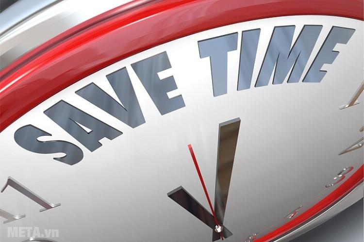 Giúp bạn tiết kiệm thời gian.