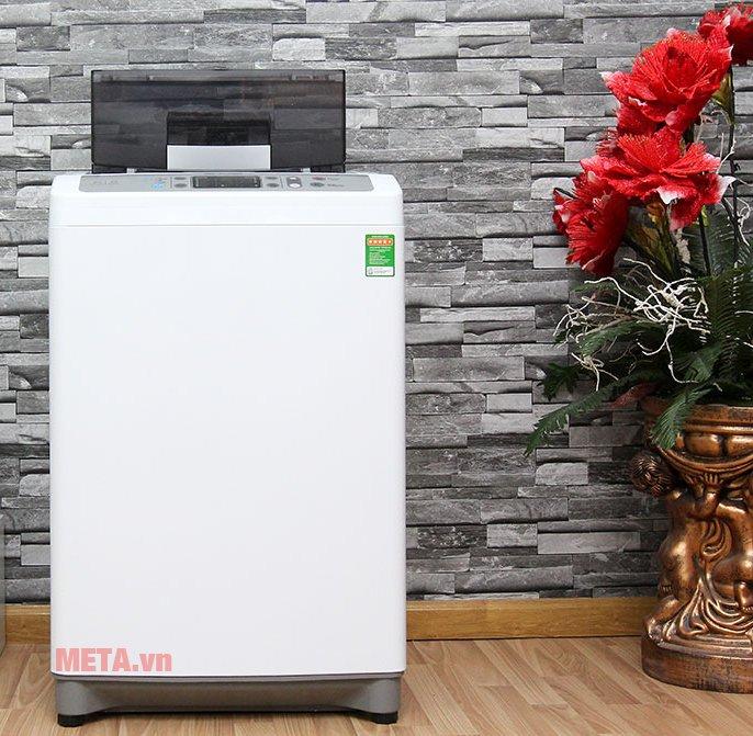 Máy giặt cửa trên 10kg Sharp ES-S1000EV-W có thiết kế tinh tế và hiện đại