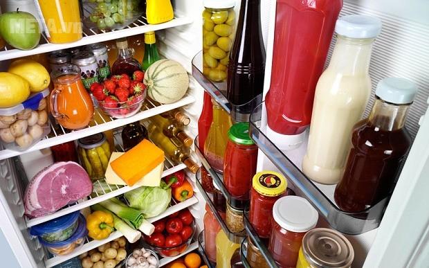 Lượng thực phẩm vừa đủ hoạt động làm lạnh sẽ tốt hơn