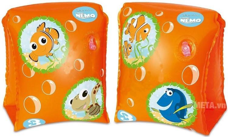 Phao tay cá vàng Nemo Bestway 91100