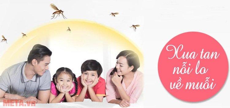 Xua tan nỗi lo về muỗi với đèn diệt côn trùng Đại Sinh DS-DU12.