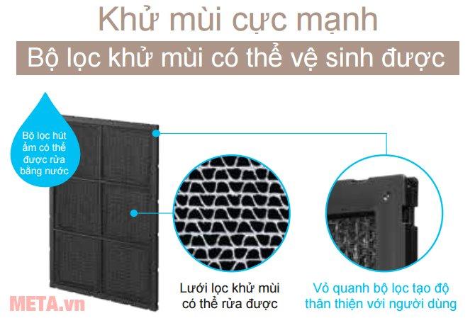 Máy lọc không khí Hitachi EP-A9000 khử mùi hiệu quả