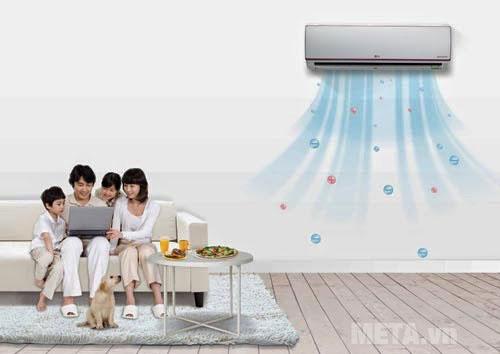 Lựa chọn đúng công suất máy điều hòa so với diện tích căn phòng